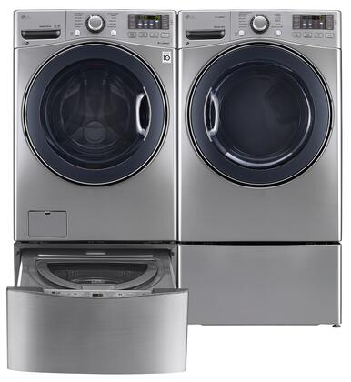 LG LG4PCFL27G2PEDSSKIT4 FrontLoad Washer and Dryer Combos
