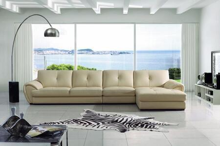 VIG Furniture VGBN3992  Sofa and Chaise Leather Match Sofa