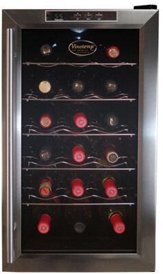 "Vinotemp VT18TEDS 14"" Freestanding Wine Cooler"