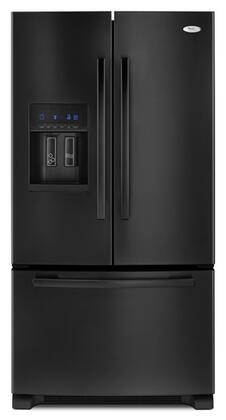 Whirlpool GI6FARXXB  French Door Refrigerator with 25.5 cu. ft. Total Capacity Glass Shelves