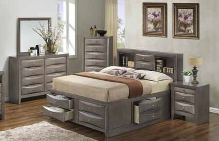 Glory Furniture G1505GFSB3DMN G1505 Full Bedroom Sets