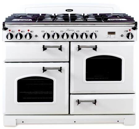 "AGA ALEG44DFCDVWH 44"" Legacy Series Dual Fuel Freestanding"