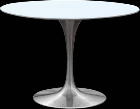 Fine Mod Imports FMI10074 Silverado Dining Table In White