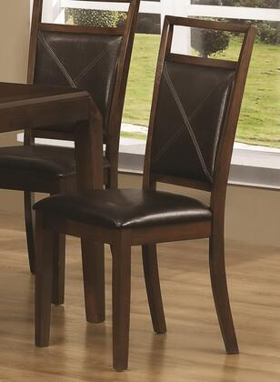 Coaster 103172 Matilda Series Contemporary Wood Frame Dining Room Chair