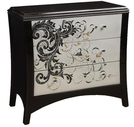 Gail's Accents 40042CH Modern Graphics Series Wood Chest