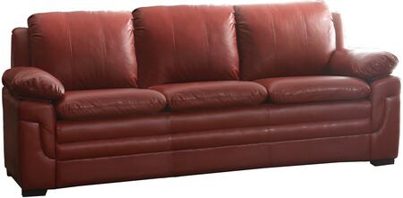 Glory Furniture G289S  Stationary Faux Leather Sofa