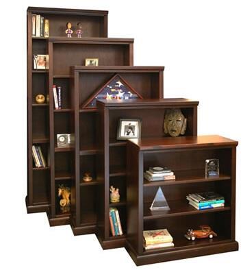 Legends Furniture RP6884BRCRoosevelt Park Series  Bookcase