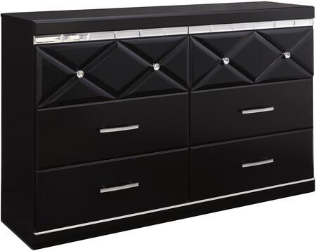 Milo Italia BR51820 Barron Series Wood Dresser