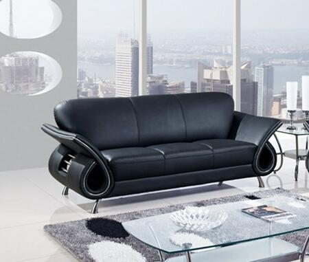 Global Furniture USA U559BLS  Stationary Leather Sofa