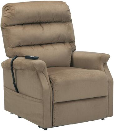 Signature Design by Ashley 7460312 Brenyth Series Contemporary Fabric Metal Frame  Recliners