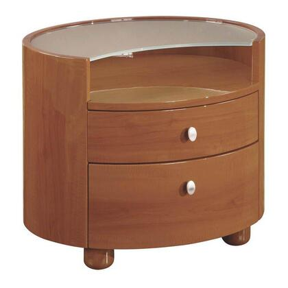 Global Furniture USA EVELYNCHNS Evelyn Series  Wood Night Stand