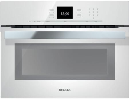 """Miele H6600 24"""" Single Electric Speed Oven With 19 Operating Modes, SensorTronic Controls, MasterChef Programs, PerfectClean Interior, And Temperature Probe:"""