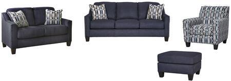 Milo Italia MI8056SLACOMBLU Madden Living Room Sets