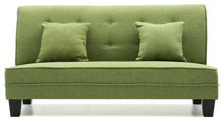 Glory Furniture G404S Newbury Series Fabric Stationary Loveseat