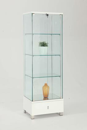 Chintaly 6628CURX Gloss Glass Curio