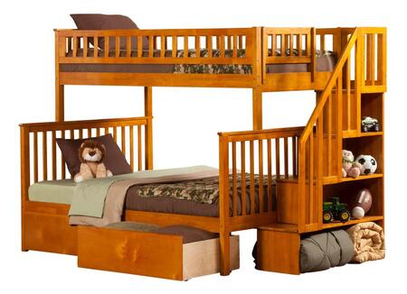 Atlantic Furniture AB56747  Twin Over Full Size Bunk Bed