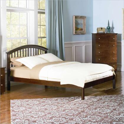 Atlantic Furniture SRICHMONDOFQUEENAW Richmond Series  Queen Size Bed