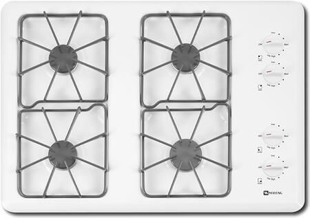 Maytag MGC4430BDW  Gas Sealed Burner Style Cooktop, in White