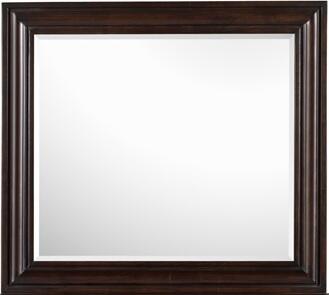 Magnussen Y187742 Edge Series Childrens Square Portrait Dresser Mirror