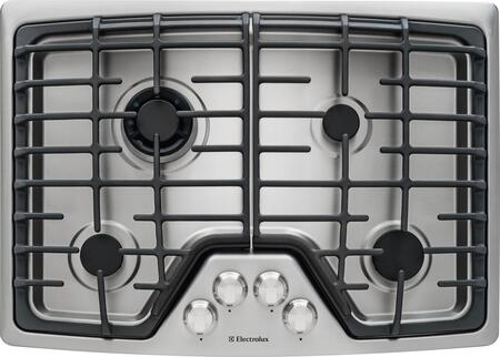 "Electrolux EW30GC55PS 30"" Gas Sealed Burner Style Cooktop, in Stainless Steel"