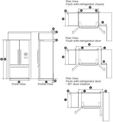 Fisher Paykel Rf201adx4 Counter Depth French Door
