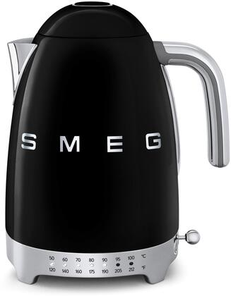 Smeg KLF02x 50's Retro Style Variable Temperature Kettle with 7 Cup Capacity, Stainless Steel Body, 7 Temperature Levels, 1500 Watt Power, in
