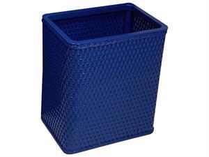 Redmon S426X Chelsea Collection Decorator Color Square Wicker Wastebasket in