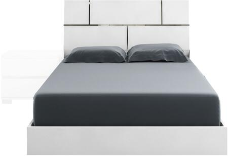 Casabianca TC9002KW Pisa Series  King Size Panel Bed