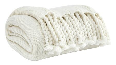 Signature Design by Ashley Clarence A100061X Pack of 3 Decorative Throws with Solid Rib Knit Pattern in