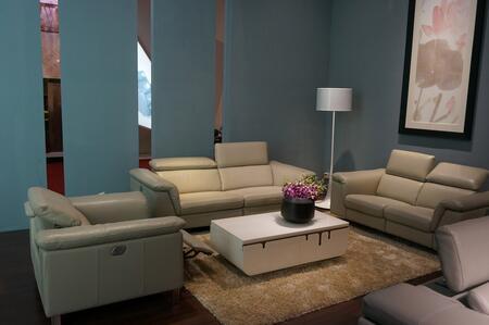 VIG Furniture VGEV984TPE Divani Casa Series Reclining Leather Sofa