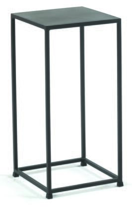 Tag 166X0.08.132 Urban Pedestal With Solid Steel Rods, Steel Plate Tops & In Coco