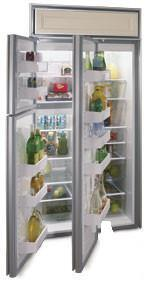 Northland 363DSBR  Counter Depth Side by Side Refrigerator with 22.8 cu. ft. Capacity in Black