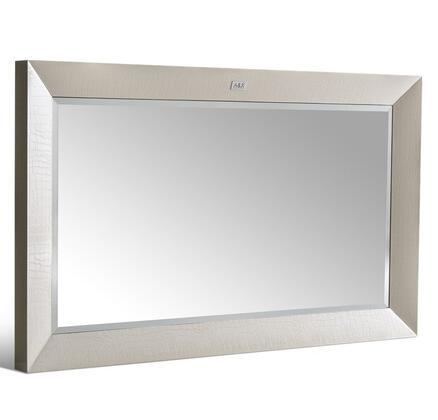 VIG Furniture VGUNAW416120CMP A & X Glam Series Rectangular Landscape Dresser Mirror