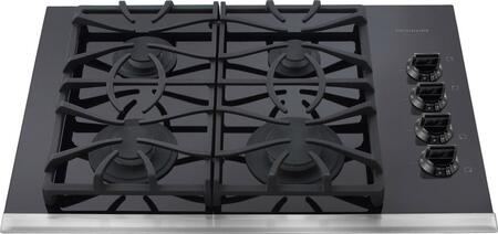 "Frigidaire FGGC3065KB 30"" Gallery Series Gas Sealed Burner Style Cooktop, in Black"