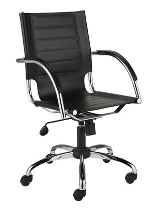 """Euro Style 00401BLK 21.75""""  Office Chair"""