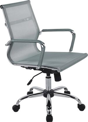 "VIG Furniture VGLFWX04AGRY 22"" Adjustable Modern Office Chair"