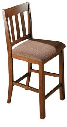 Jofran 477BS850KD Transitional Fabric Wood Frame Dining Room Chair