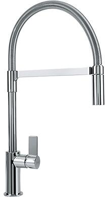 Franke FFPD31 Ambient Series Pull-Down Faucet with Full and Needle Spray, and Side Lever in