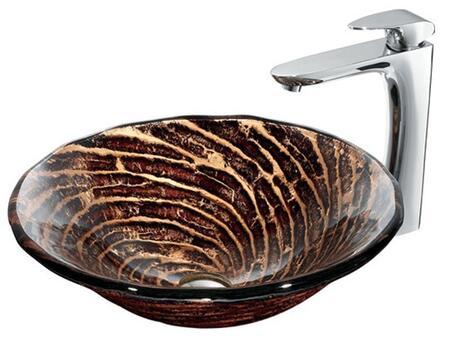 Vigo VGT188 Chrome Bath Sink