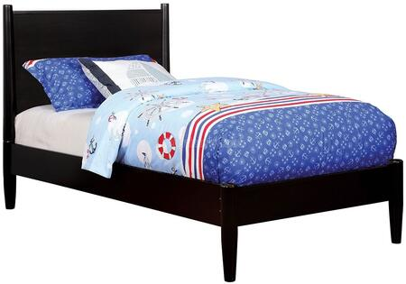 Furniture of America CM7386BKTBED Lennart II Series  Twin Size Panel Bed