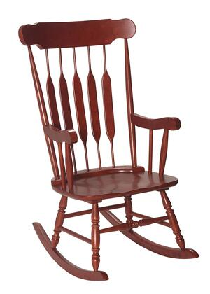 Gift Mark 3800 Natural Solid Wood Handcrafted Adult Rocking Chair in