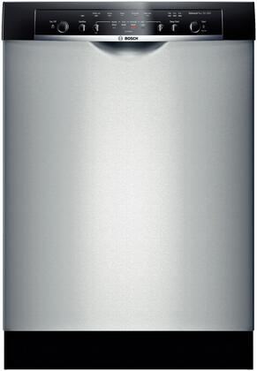 "Bosch SHE3AR55UC 24"" Ascenta Series Built In Full Console Dishwasher"