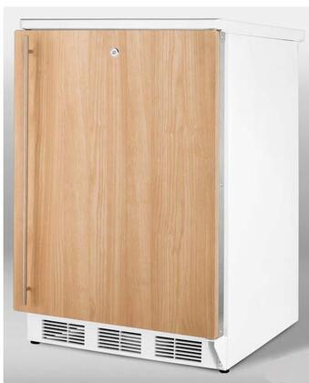 Summit FF6L7IF  Compact Refrigerator with 5.5 cu. ft. Capacity in Panel Ready