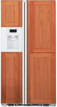 GE PSIC3RGXWV Freestanding Side by Side Refrigerator