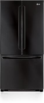 LG LFC25765SB  French Door Refrigerator with 24.9 cu. ft. Total Capacity 4 Glass Shelves