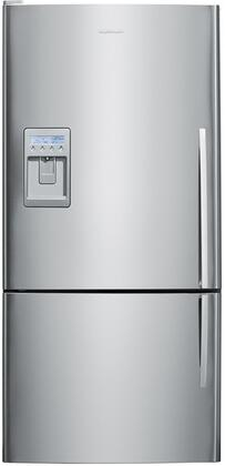 "Fisher Paykel E522BLXU2 Full Size Yes 17.6 cu. ft. 31.13"" Bottom Freezer Refrigerator 