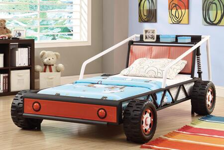 Coaster 400700 Race Car Beds Series Childrens Twin Size Captains Bed