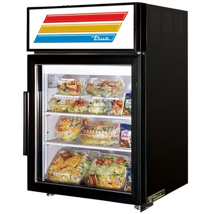 True GDM-5 Counter-Top Refrigerator Merchandiser with 5 Cu. Ft. Capacity, LED Lighting, and Thermal Insulated Glass Swing-Door