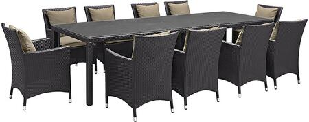 Modway EEI2219EXPMOCSET Rectangular Shape Patio Sets