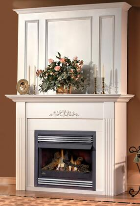 Napoleon WRPCXB Corner Raised Panel Upper Wall Kit for Medium and Large Mantels: